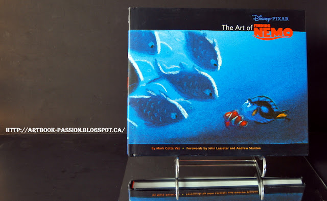 artbook disney pixar nemo poisson ocean