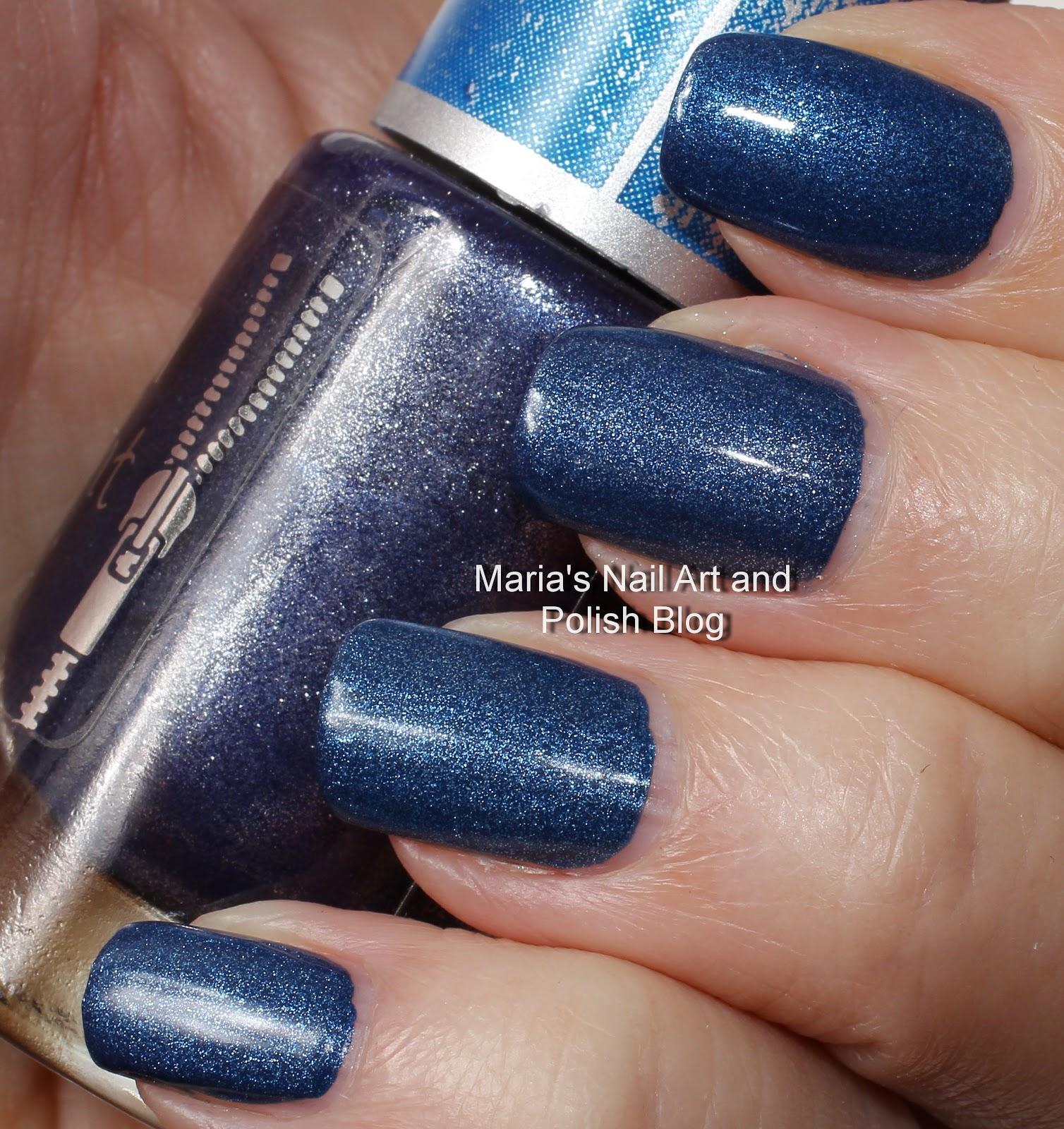 Marias Nail Art And Polish Blog: Denim Polish Comparisons
