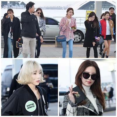 SNSD Airport Pictures