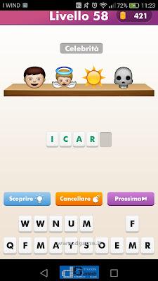 Emoji Quiz soluzione livello 58