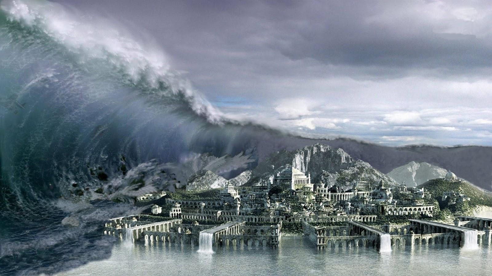 La Atlántida Tsunami