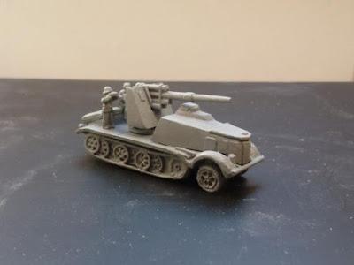 Gv176 Sdkfz 8 SP 88mm Flak 18