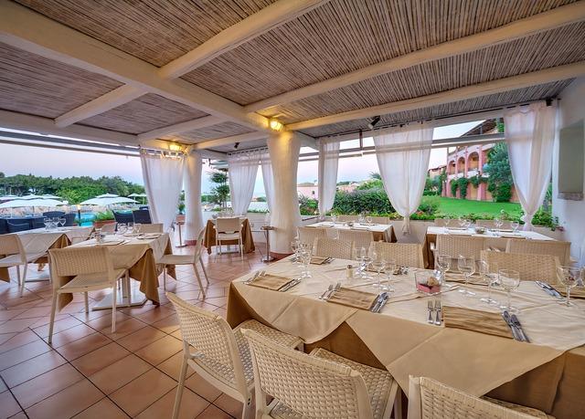 Grand Hotel in Porto Cervo foto ristorante