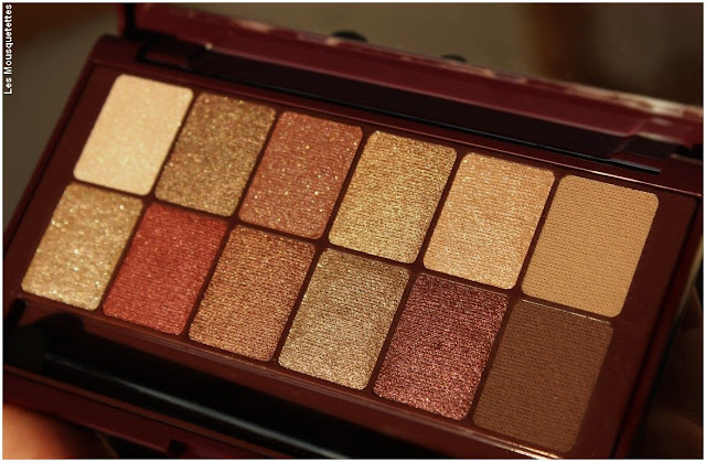 The Burgundy Bar, palette maquillage automne hiver 2017 Maybelline - Blog beauté