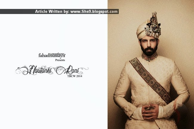 Fahad Hussayn Nautanki Rani Bridal Collection