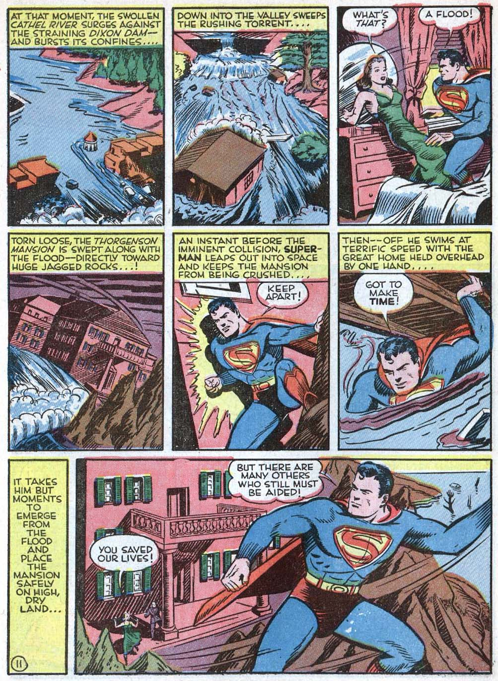 Read online Action Comics (1938) comic -  Issue #40 - 13