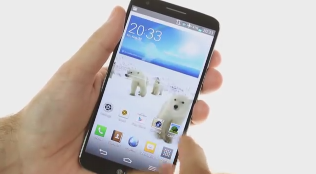 APK] LG G2's 3D Polar Bear Wallpaper Ported for all Android devices