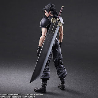 "Play Arts Kai Zack Fair de ""Crisis Core: Final Fantasy"" - Square Enix"