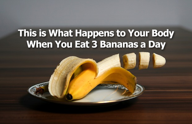 This is What Happens to Your Body When You Eat 3 Bananas a Day
