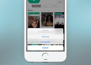 Cara Downgrade atau Menurunkan Versi Aplikasi di iPhone