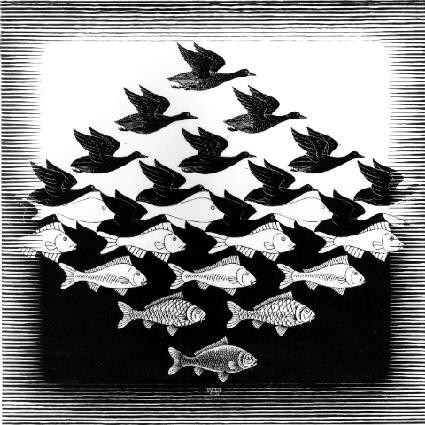 Céu e Água l - Escher, M. C. e suas geniais litogravuras