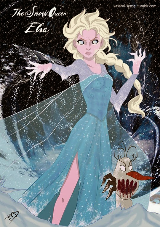 Disney Princesses-Transformed-7