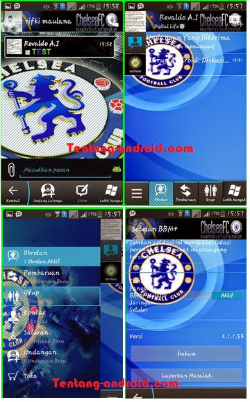 BBM MOD Chelsea FC Versi 2.1.1.53 Terbaru