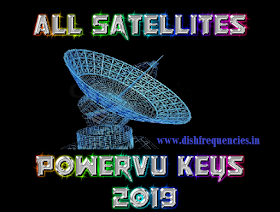 Dish Frequencies: All Satellites Powervu keys 2019