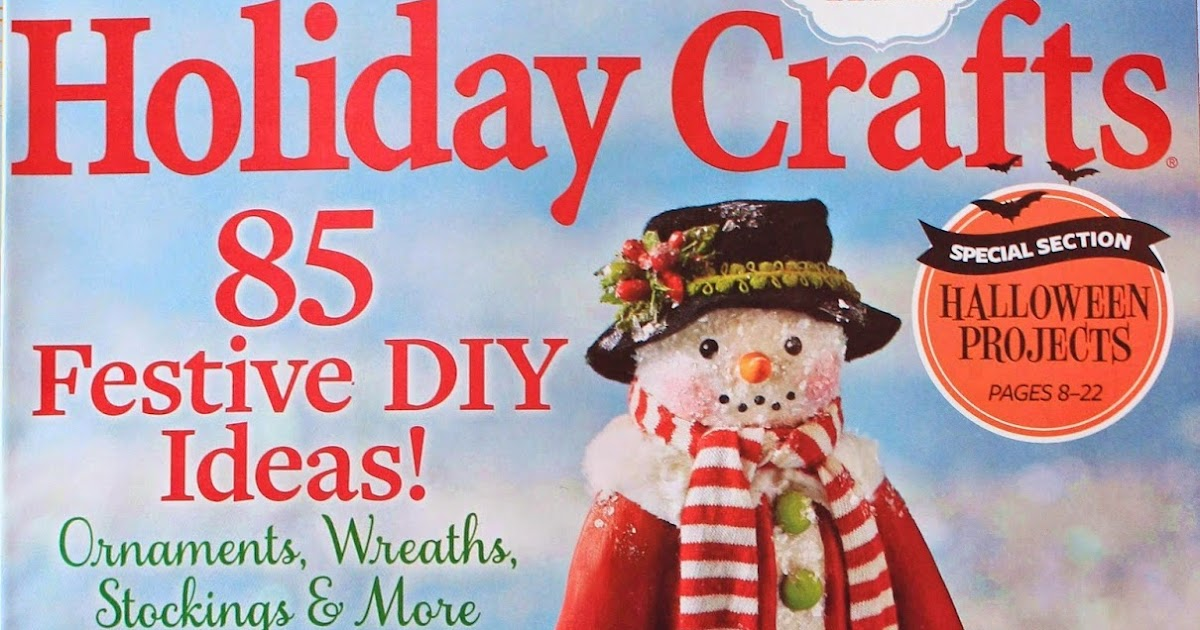 Better Homes And Gardens Holiday Crafts Magazine
