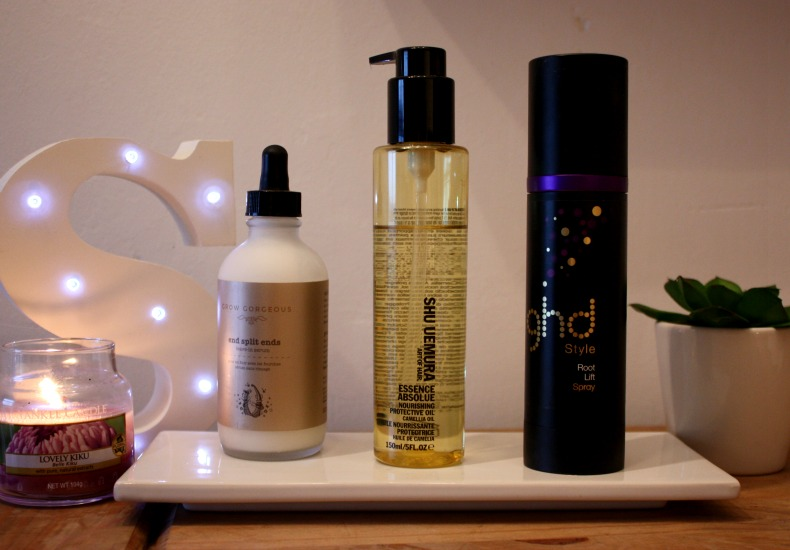 Daily haircare favourites grow gorgeous shu uemura ghd