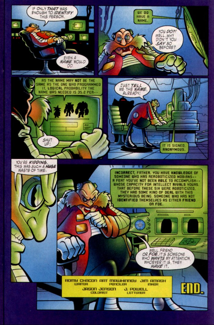 Read online Sonic The Hedgehog comic -  Issue #135 - 17