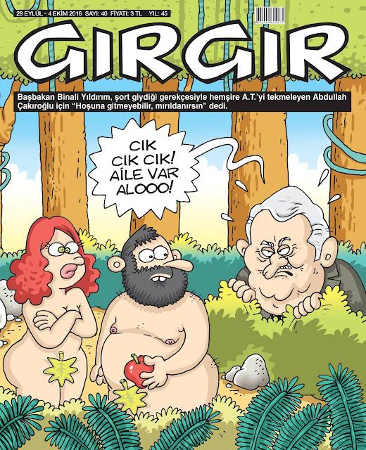 Gırgır Dergisi | 28 Eylül - 4 Ekim 2016 Kapak Karikatürü