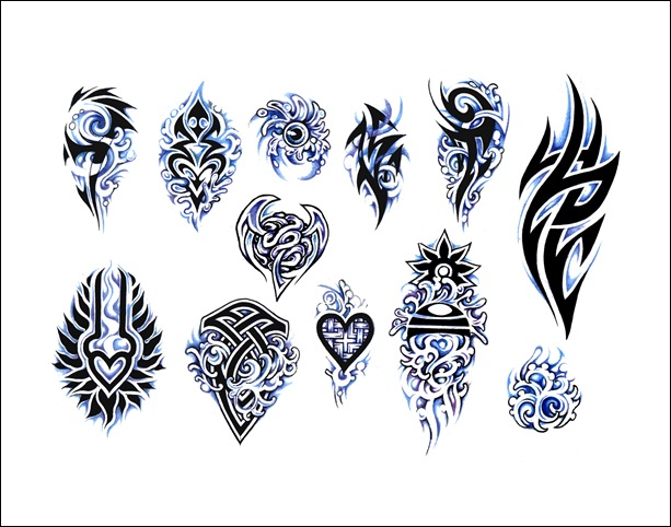 free tribal tattoo designs