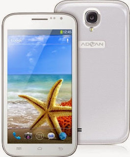 Cara Flash Advan S5E Pro Kitkat Bootloop Via PC Mudah