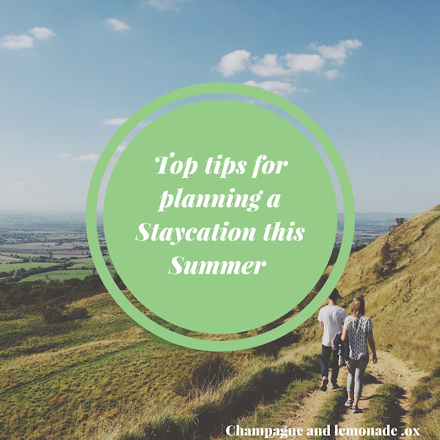 top tips for planning a summer staycation