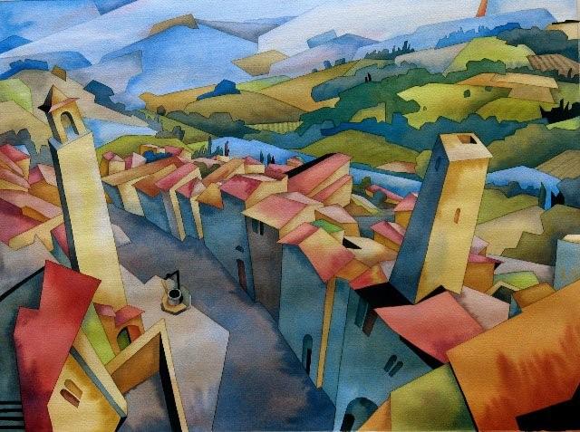 Канадский художник. Barry Coombs 17