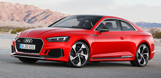2018 Audi RS5 Coupe Design