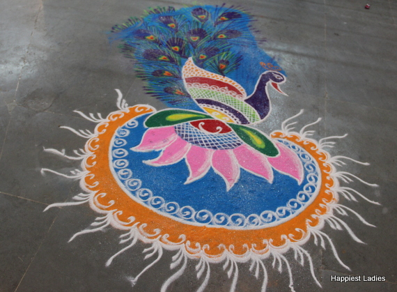 rangoli design for wedding decor