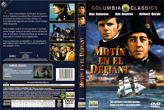 Carátula dvd Motín en el Defiant