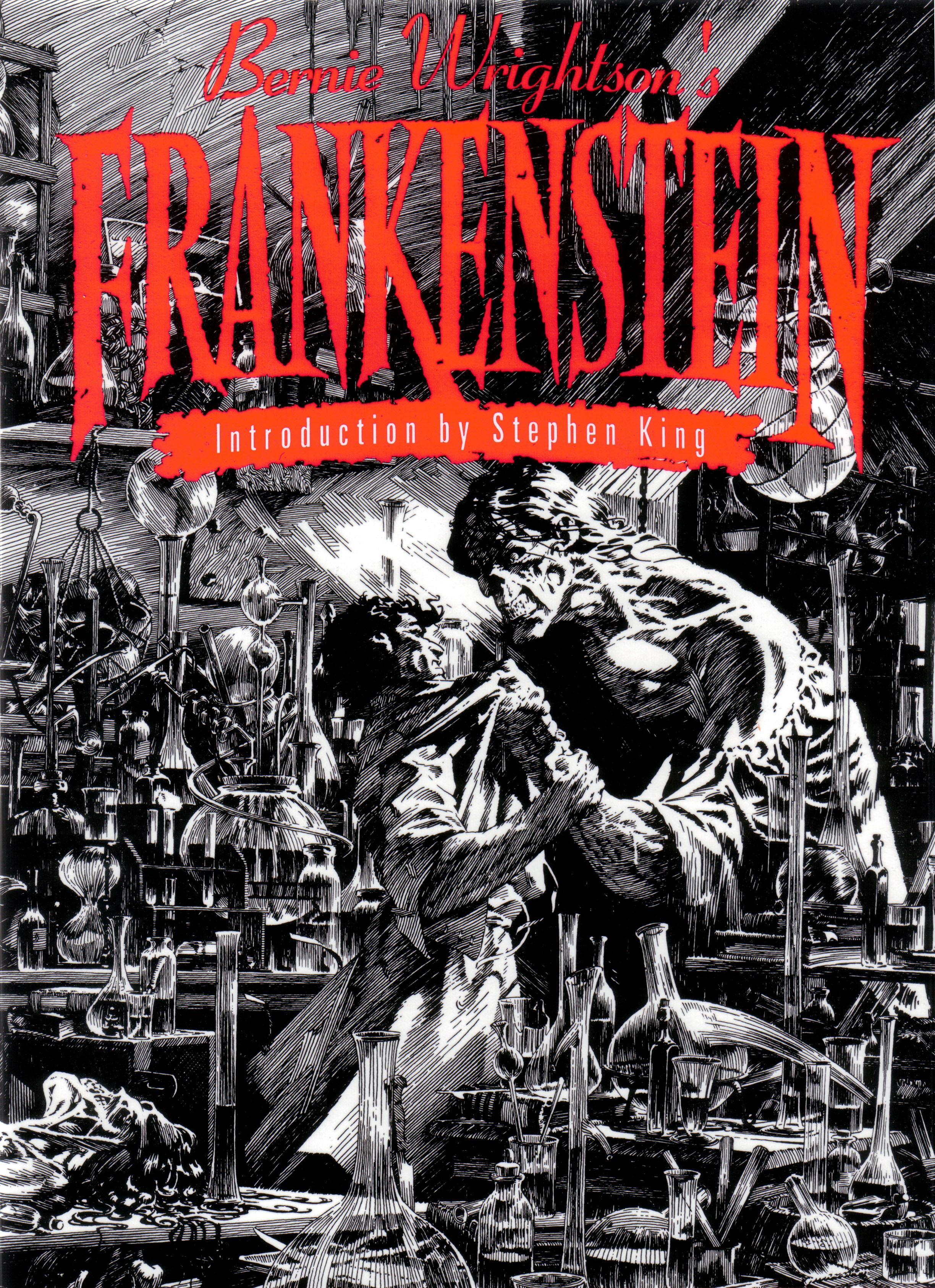 Read online Bernie Wrightson's Frankenstein comic -  Issue # Full - 1