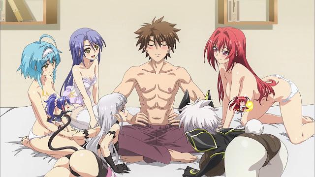 Shinmai Maou no Testament Burst ( Season 2 ) BD Sub Indo : Episode 1-10 END | Anime Loker