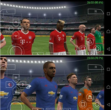 Game PES 2017 PPSSPP ISO Android