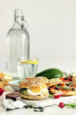 Salata od kuvanih jaja i avokada