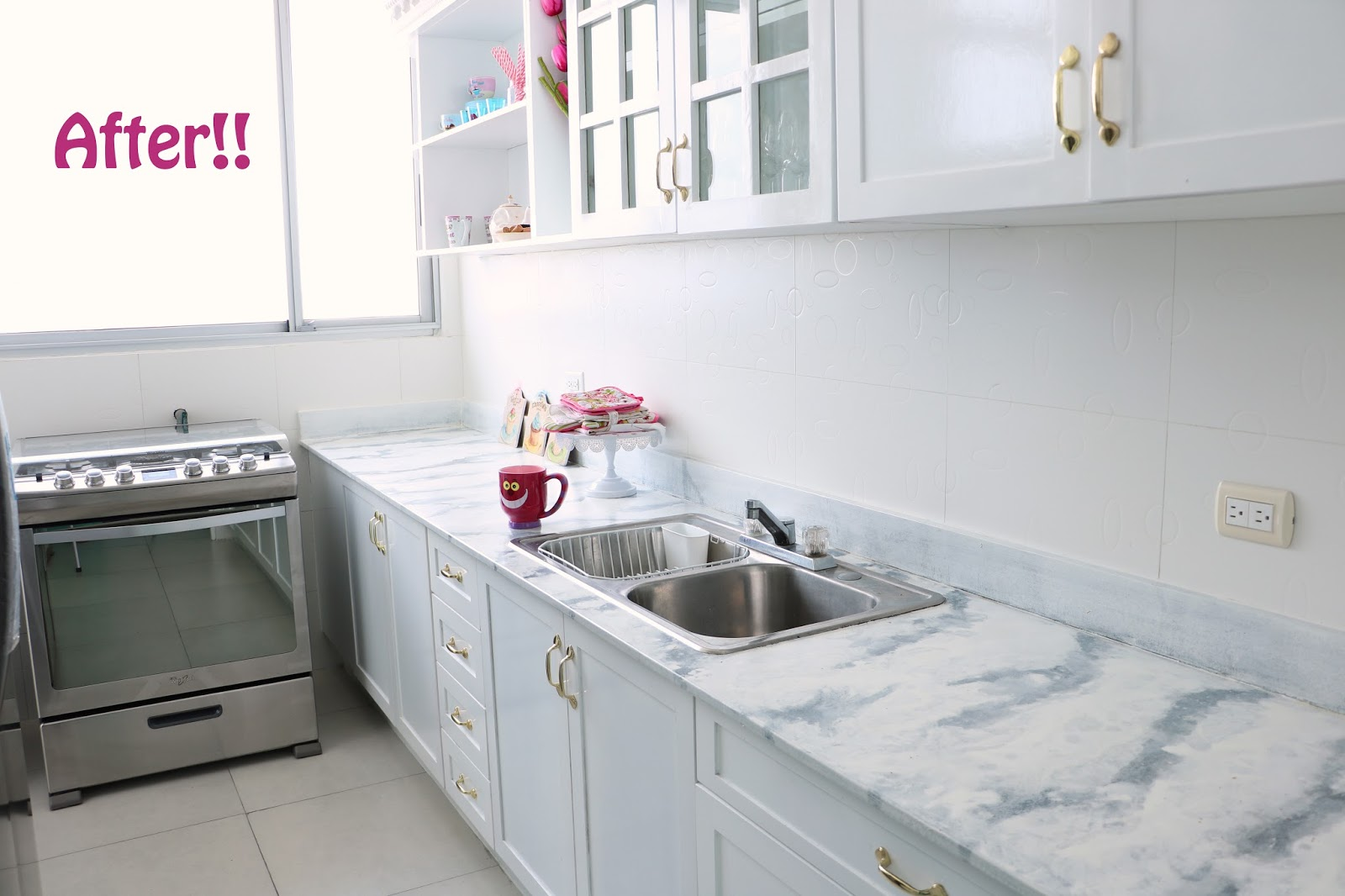 Click through to see the full makeover of this kitchen!