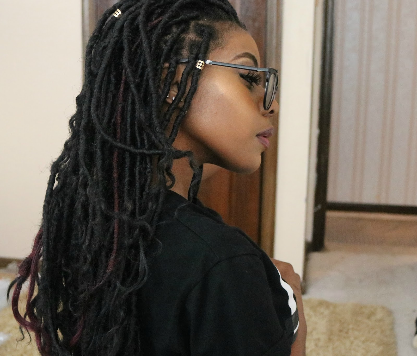 How to Get Meagan Good s Faux Locs CurlyNikki