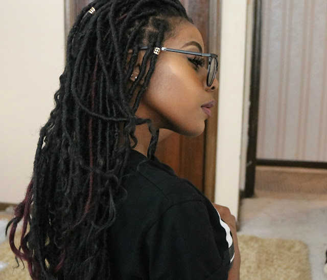 Transitioning From Locs To Loose Natural Hair
