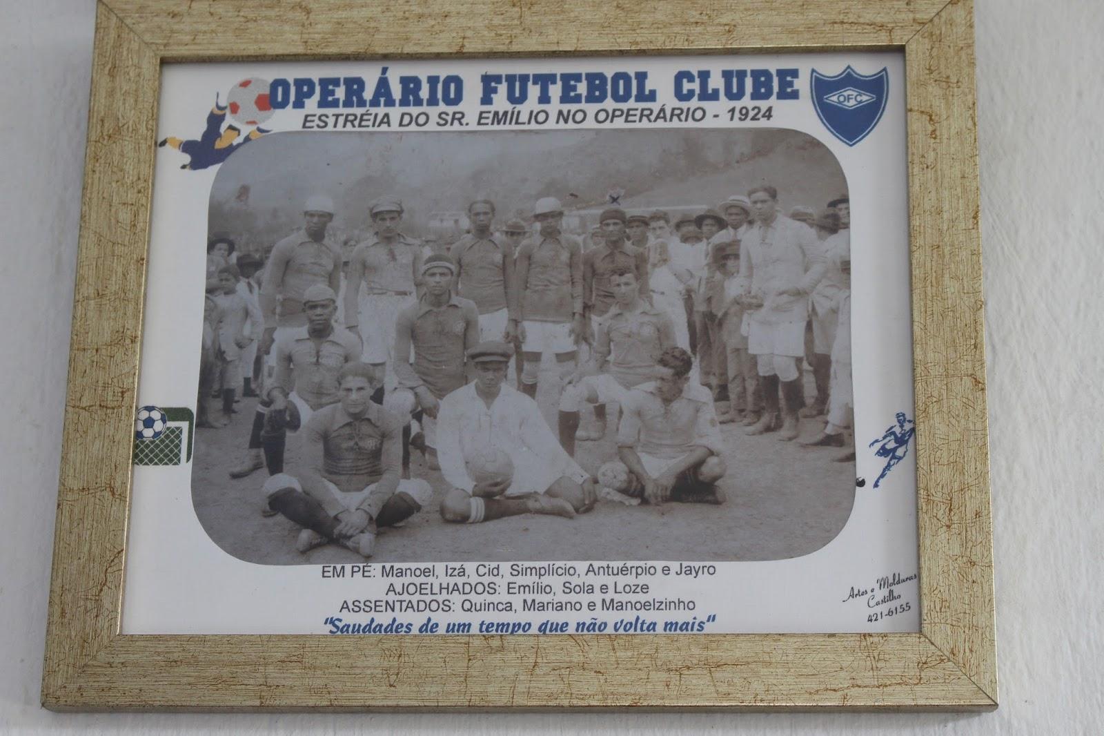 b506c4cfbf Operário FC de Cataguases chega aos 100 anos (ininterruptos) de ...