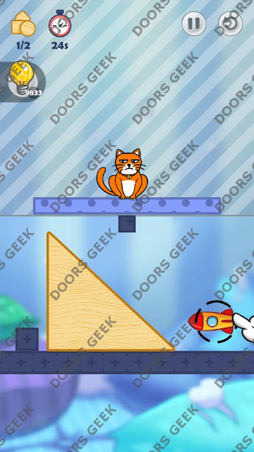 Hello Cats Level 101 Solution, Cheats, Walkthrough 3 Stars for Android and iOS