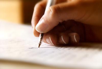 Resultado de imagen de escribir a mano