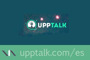 Upptalk, app para llamadas y mensajes sin operador móvil