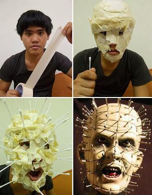 Disfraz de Pinhead cosplay