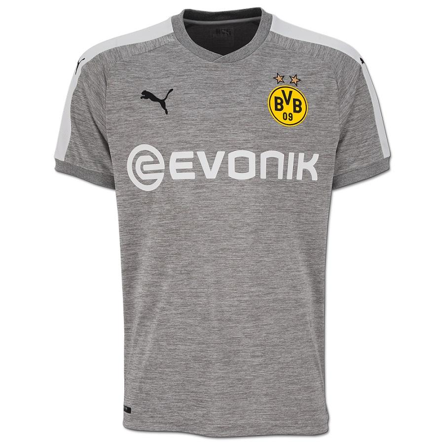 b28ca1964183e Borussia Dortmund confirma sua terceira camisa toda cinza  veja ...