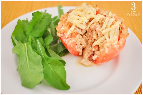 tomate recheado fácil