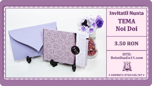 Invitatii Nunta Noi Doi