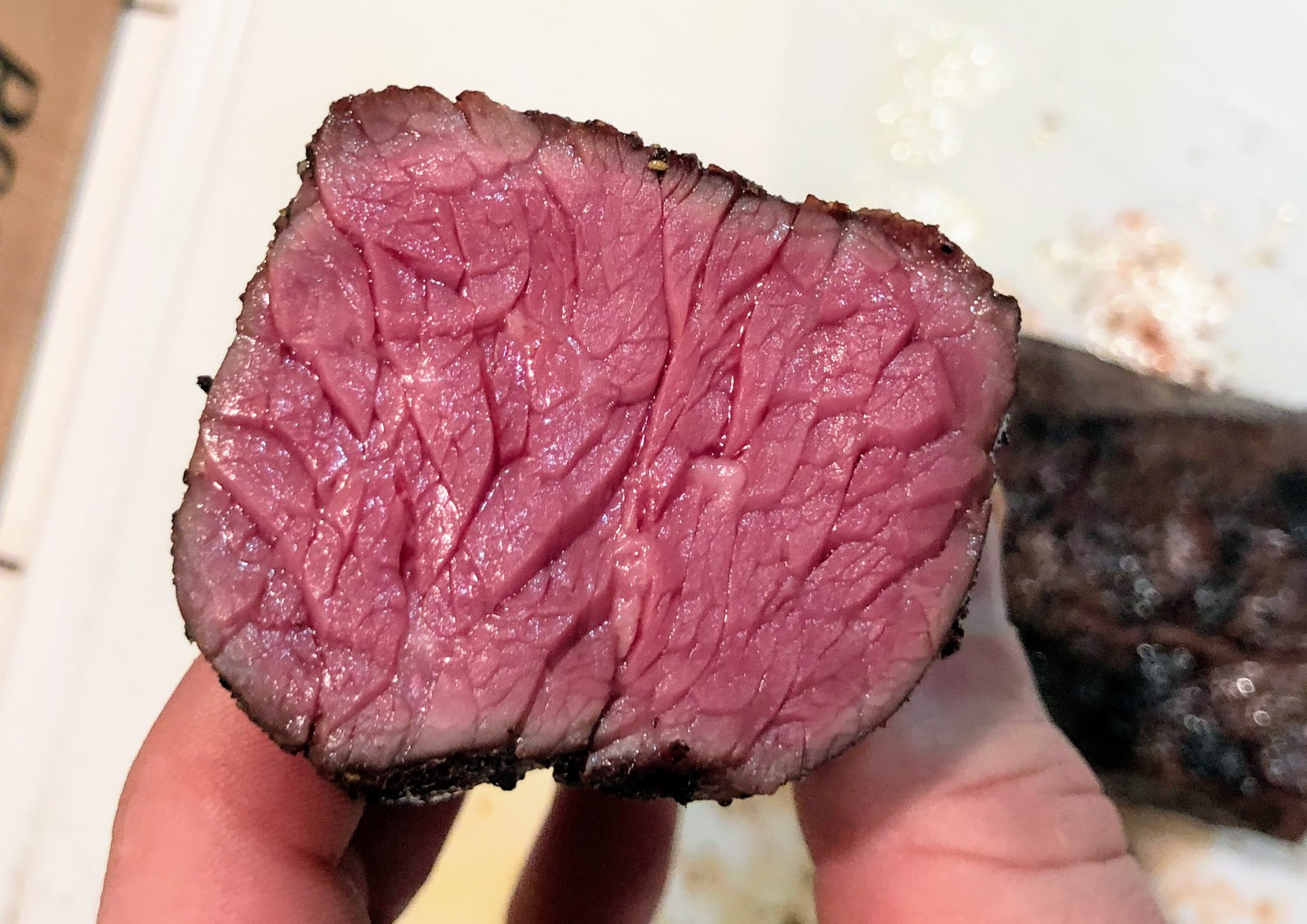 Sous Vide By Me Kosher Dosher The Majestic Hanger Steak