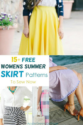 Free skirt patterns with sewing instructions
