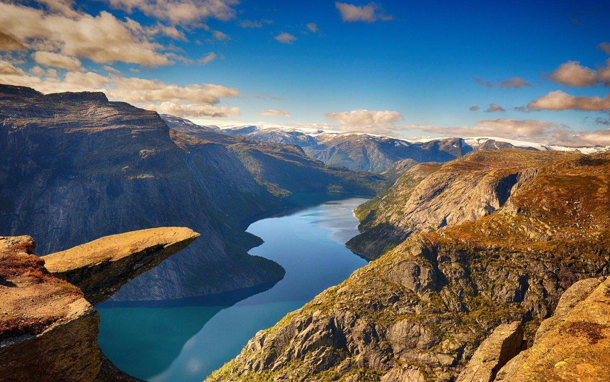 Trolltunga, Hordaland, Norway Hd Picture