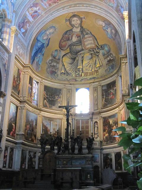 Pantocrator del ábside de la catedral de pisa