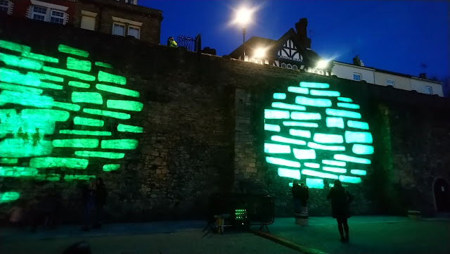 The Old Walls at Festival of Light 2019
