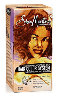 Shea Moisture Hair Dye - Vegan Hair Products RoundUp - My 7 Favorite Products For Health Hair